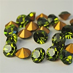 Wholesale Austrian Swarovski Crystal Art. #1100 Olivine, 11mm. (36pcs. minimum)