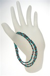 Faded Glory Turquoise Stretch Bracelets