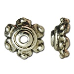 Bali Bead Cap finding, with antique finish