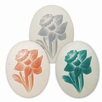 Lalique Flower Cameo