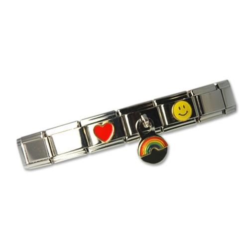 Italian Link Charm Bracelet