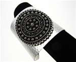 Wholesale Genuine Chico's Wide Cuff Bracelet, Silver Plated