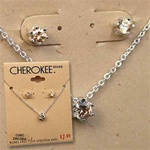 CZ Necklace earring