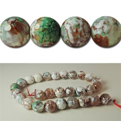 Genuine Agate Faceted Beads