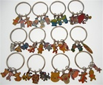 Authentic Disney Characters Key Rings