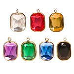 Lucite Channel Heart,  Asst. Colors