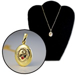 Wholesale Gold Tone Mom Locket Necklace