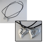 Wholesale Best Friends Heart Necklace