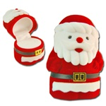 Ring,Earring, pendant Box -  Santa