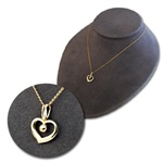 wholesale 14K Gold Filled Heart Necklace