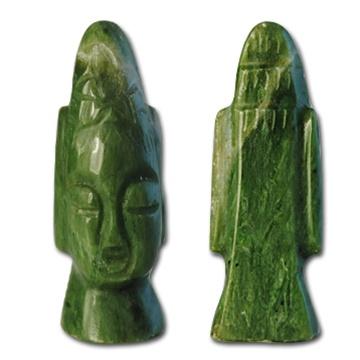 Wholesale Genuine Jade Head Figurine Genuine Jade Figurine