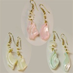 Genuine Mother of Pearl Earrings