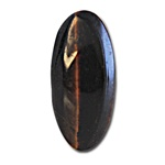 Wholesale Oval Semi Precious Stone Cabochon - 15x7mm, available in Tiger Eye only. (12 pcs minimum)