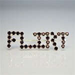 Wholesale Rhinestone Flirt Pin