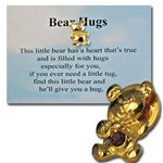 Wholesale Bear Hugs Pin & poem
