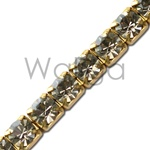 Rhinestone Chain Black Diamond