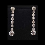 Beautiful, Dangle Rhinestone Earrings