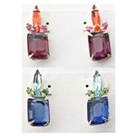 Assorted Coloful Stone Earrings