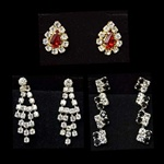 Assorted Crystal Earrings