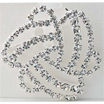 Rhinestone Crystal Pin