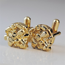 Men's Nugget Cuff Links