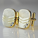 Men's Jeweled Cuff Links