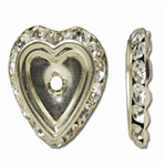 Rhinestone Heart Setting