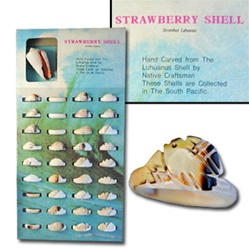 Strawberry Shell Rings