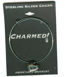 Sterling Silver, Charmed Bracelet, Exclusive Waliga Original! Special Mom Heart