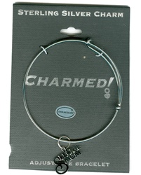 Sterling Silver, Charmed Bracelet, Exclusive Waliga Original! Special Mom