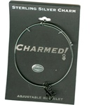 Sterling Silver, Charmed Bracelet, Exclusive Waliga Original! #1 Mom