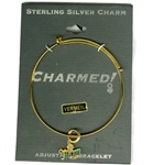 Sterling Silver, Charmed Bracelet, Exclusive Waliga Original! Rose Mom