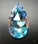 Genuine Swarovski Strass Drop Pendant in size 28x17mm, Crystal AB, discontinued