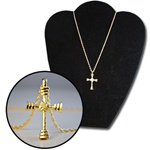 Wholesale Gold Tone Cross Necklace