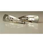 Nickel Plated Hair Clip