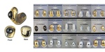 Wholesale Assorted Reversable Magnet Earrings Beautiful silver & gold tone magnetic earrings are reversable.Comes in assorted styles. (1 dozen minimum)