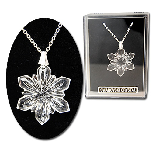 rhodium diamond swarovski image wishes set amp clear crystal pendant